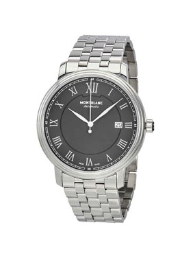 Montblanc Tradition Automatic Black Dial Men's Watch 116483