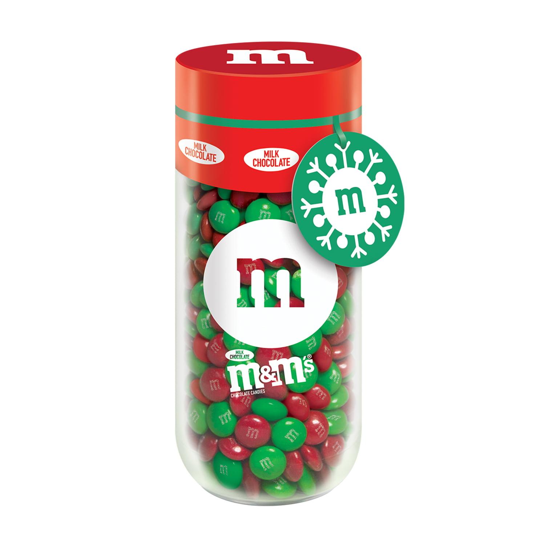 M&M's Milk Chocolate Holiday Gift Jar, ...