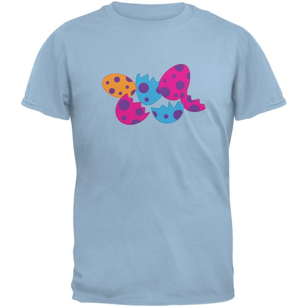 Jurassic Dinosaur Dino Eggs Light Blue Youth T-Shirt