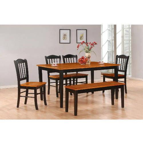 Boraam Shaker 6-Piece Dining Room Set, Multiple Finishes by Boraam Industries