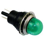 DAYTON 22NY61 Raised Indicator Light,Green,120V