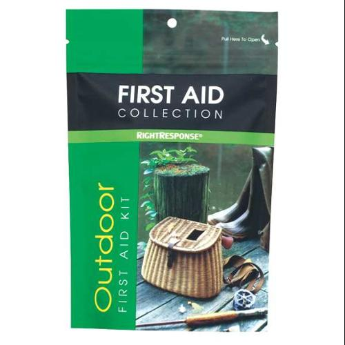 FIRST AID ONLY 10108 First Aid Kit, Bulk, Green, 33 Pcs, 1 People