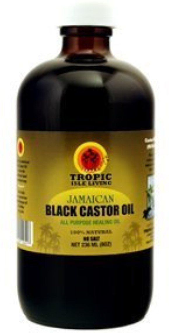 Tropic Isle Living Jamaican Black Castor Oil With Aloe