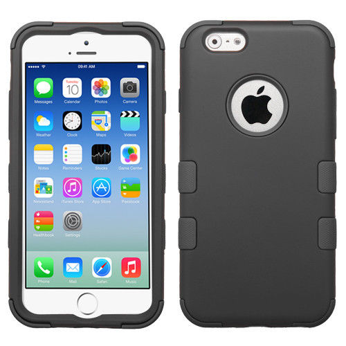 Mystcase™ For Apple iPhone 6 / 6s IMPACT TUFF HYBRID Case Skin Phone Covers +Screen Guard