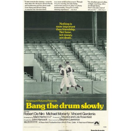 Bang the Drum Slowly 11 x 17 Movie Poster - Style A, Bang the Drum Slowly 11 x 17 Movie Poster - Style A By (Want To Bang On The Drum All Day)