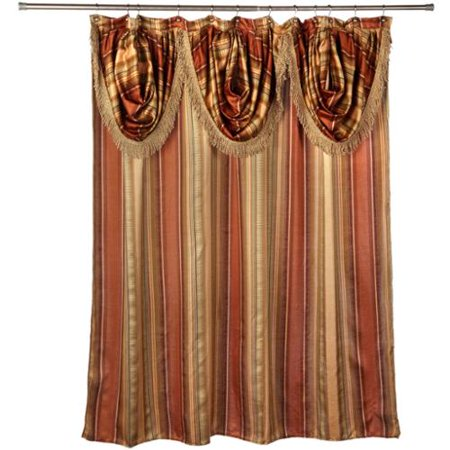 Bed Bath N More Ultra Modern Shower Curtain With Valance And Hooks Set Or Separates