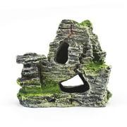 Fish Tank Aqua Landscape Decoration Artificial Mountain Driftwood 1piece