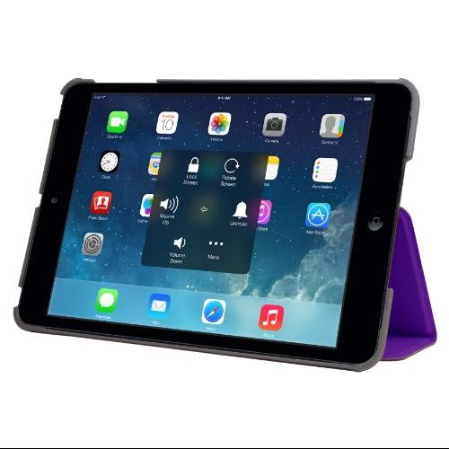 STM Studio - Protective cover for tablet - polycarbonate - purple - for Apple iPad Air