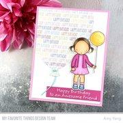 """My Favorite Things Pure Innocence Stamps 4""""X6""""-Birthday Besties"""