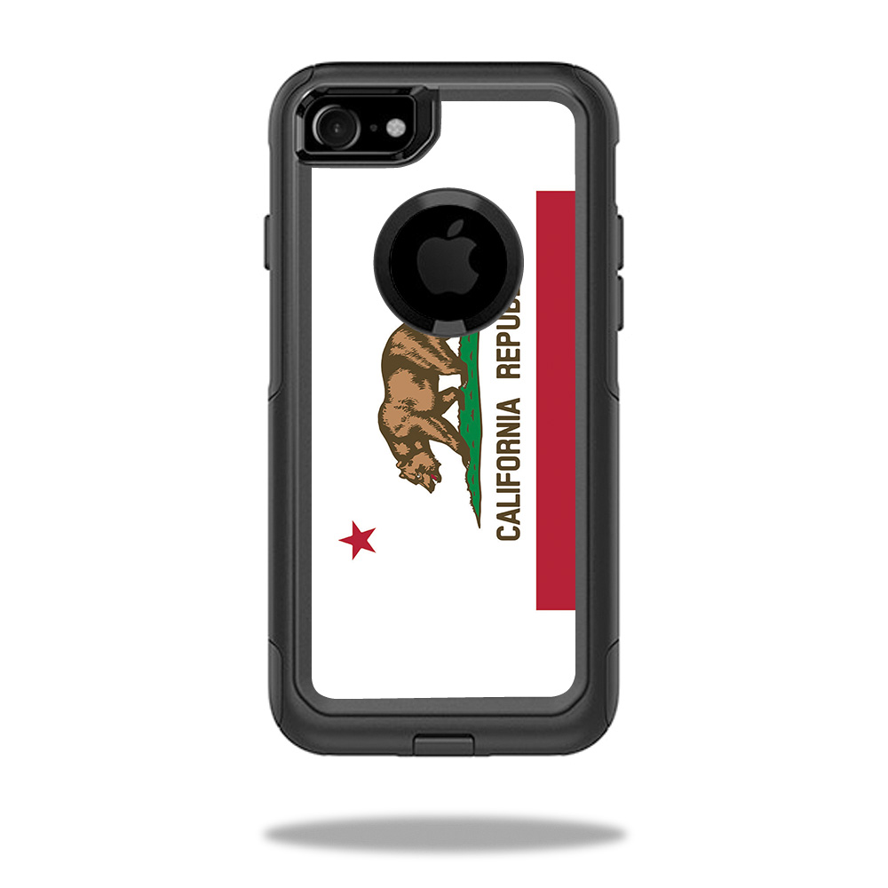 MightySkins Skin For OtterBox Commuter iPhone 8 | Protective, Durable, and Unique Vinyl Decal wrap cover | Easy To Apply, Remove, and Change Styles | Made in the USA