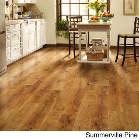 Shaw Industries Woodford Crimson Laminate Flooring 264 Sq Ft