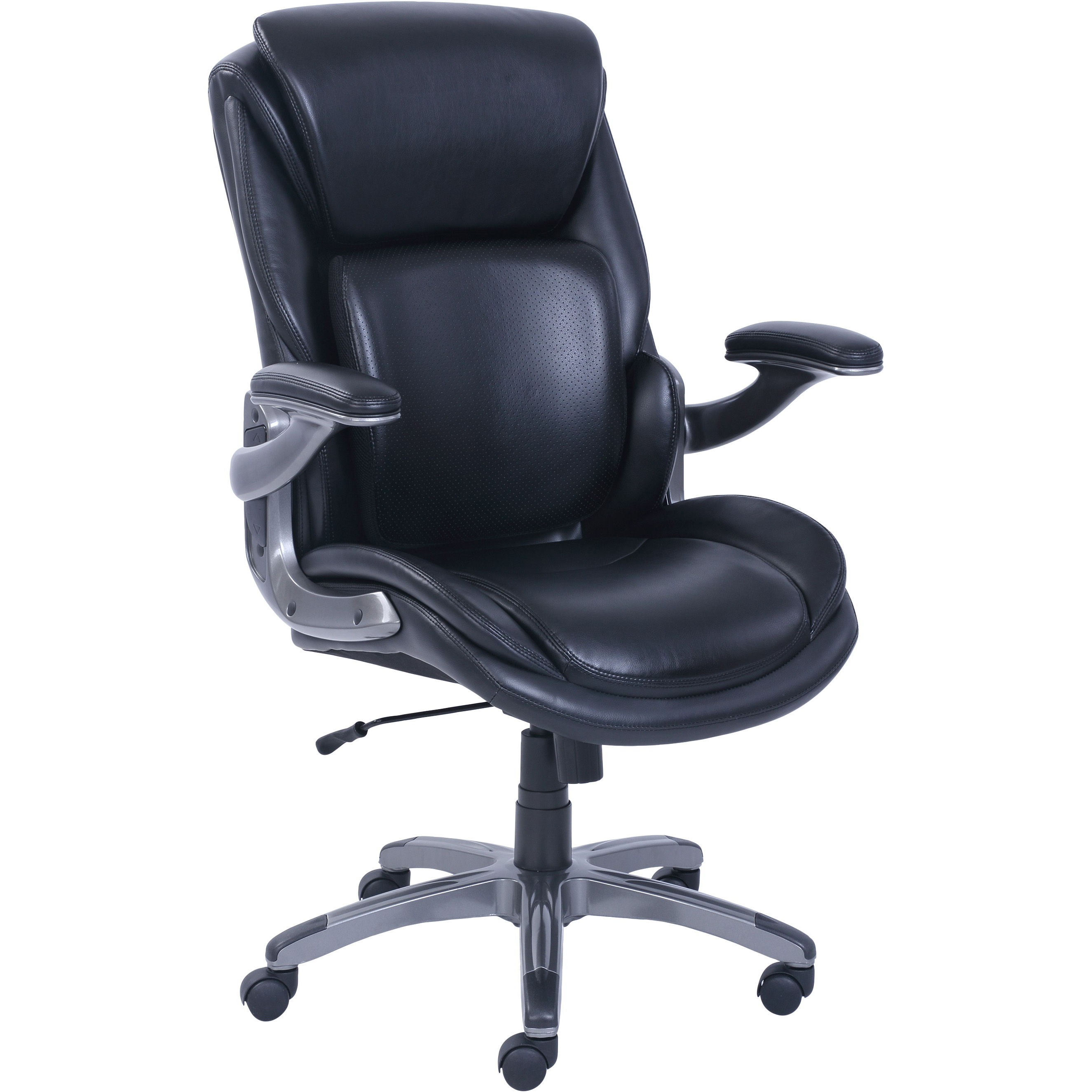 Best Ergonomic Office Chairs For Tall People - Serta 3-D Active Back Office Managers Chair, Leather Review