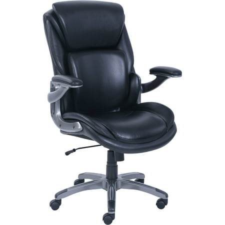 Long Back Chair - Serta 3-D Active Back Big & Tall Office Managers Chair, with Memory Foam Seat