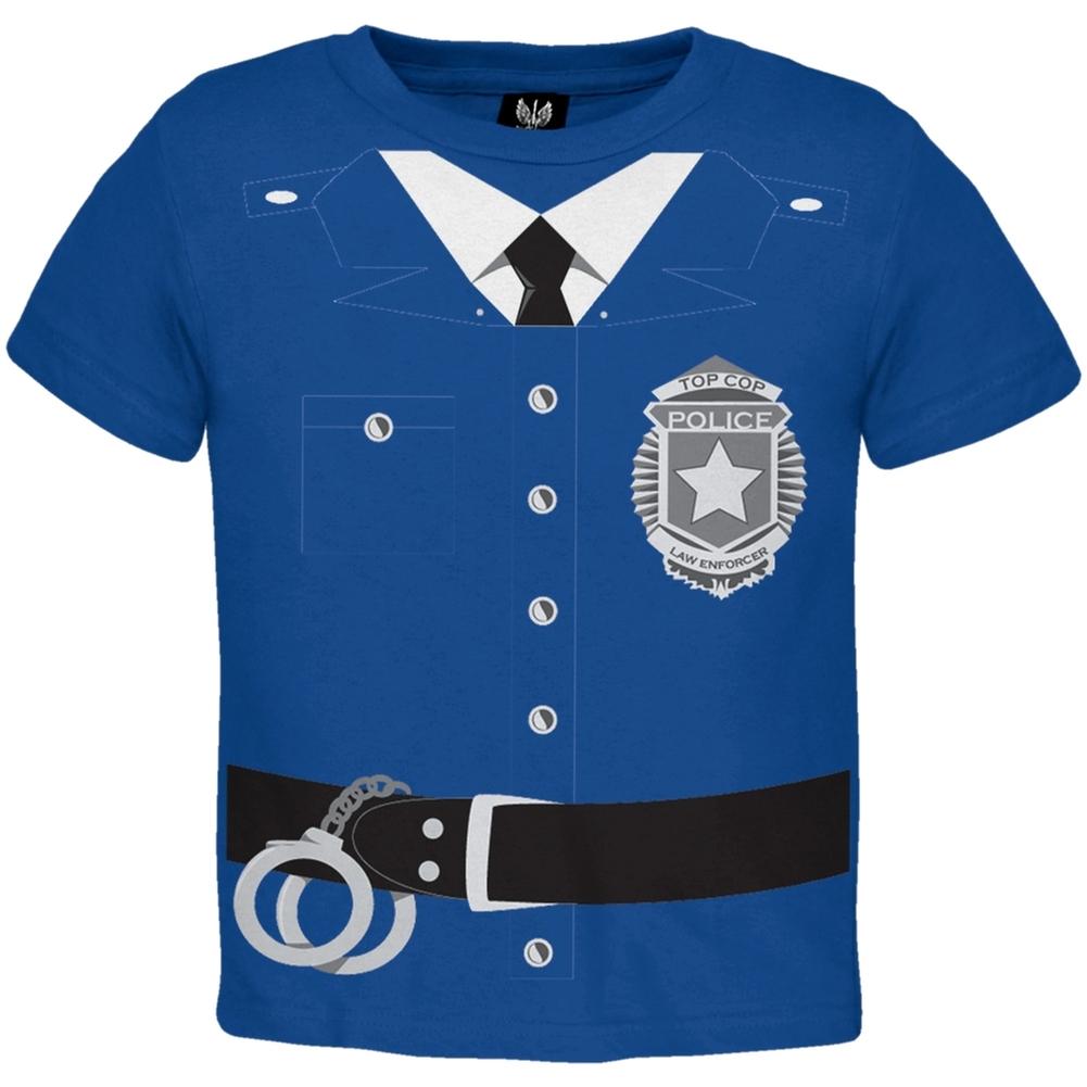 Policeman Costume Toddler T-Shirt