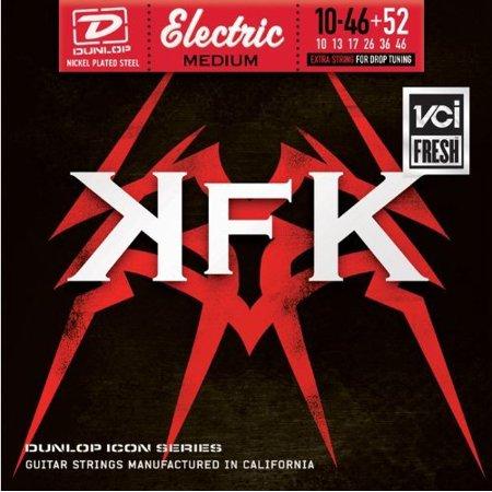 Dunlop KKN1052 Kerry King Icon Series Signature Electric Guitar Strings, Medium, .010-.052, 7 Strings/Set By Jim