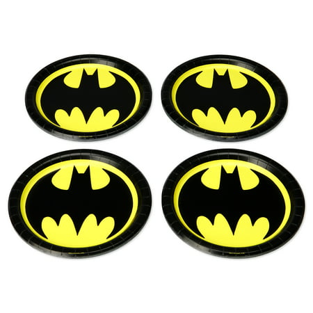 American Greetings Batman Paper Dinner Plates, 36-Count](Batman Party Supplies)