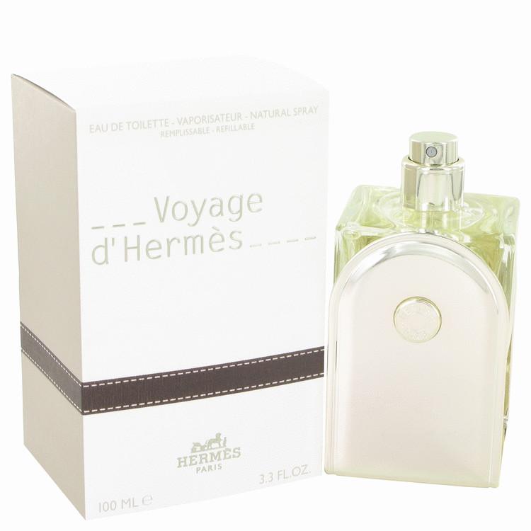 Hermes Eau De Toilette Spray Refillable 3.3 oz