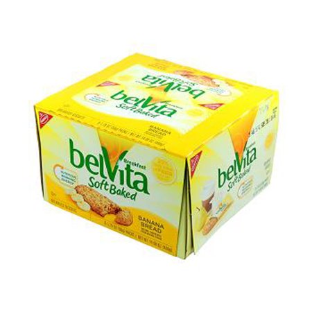 - Product Of Belvita, Soft Baked - Banana Bread, Count 8 (1.76 oz) - Granola/Cereal/Oat/Brkfast Bar / Grab Varieties & Flavors