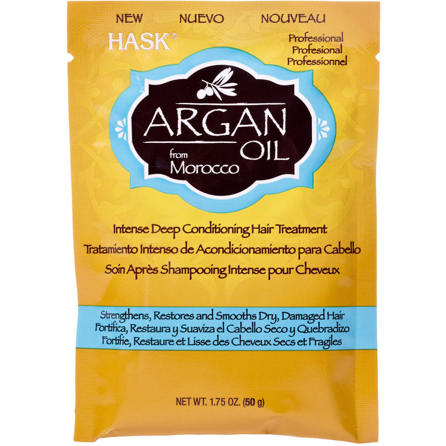 Hask Argan Oil Intense Deep Conditioning Hair Treatment, 1.75 oz