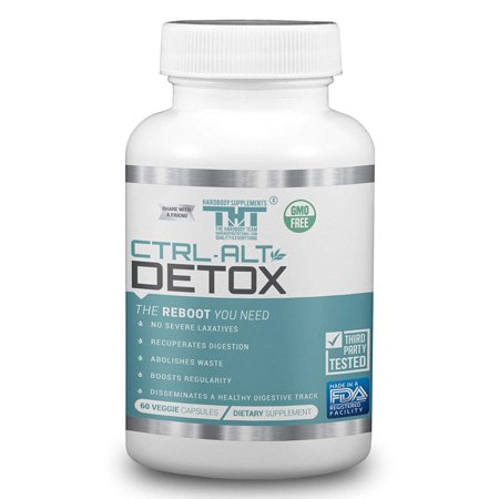 CTL-ALT-Detox |The Reboot|-Best Detox Pills. A Great Colon Cleanse and Magnesium Supplement