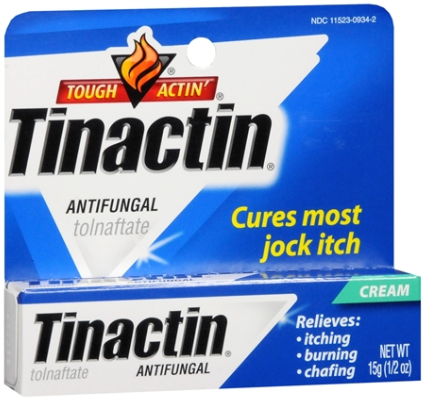 Tinactin Antifungal Cream (Jock-Itch) 0.50 oz