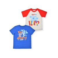 Blue's Clues Toddler Boys Short Sleeve T-shirts, 2-Pack