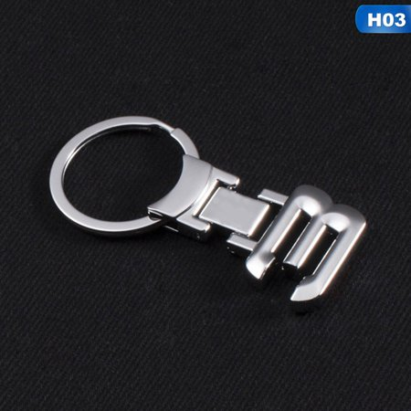 KABOER 3D Zinc Alloy Key Chain Keychain Car Emblem Keychain Key Rings Emblem For BMW 1 Series 3 Series 5 Series 6 7