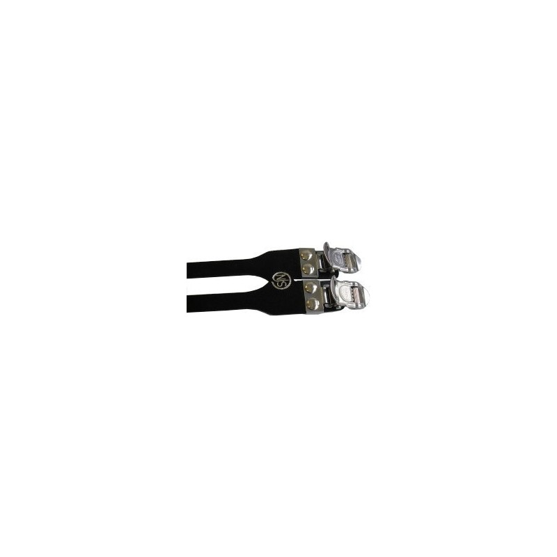 MKS Fit-a First Bicycle Pedal Strap Black