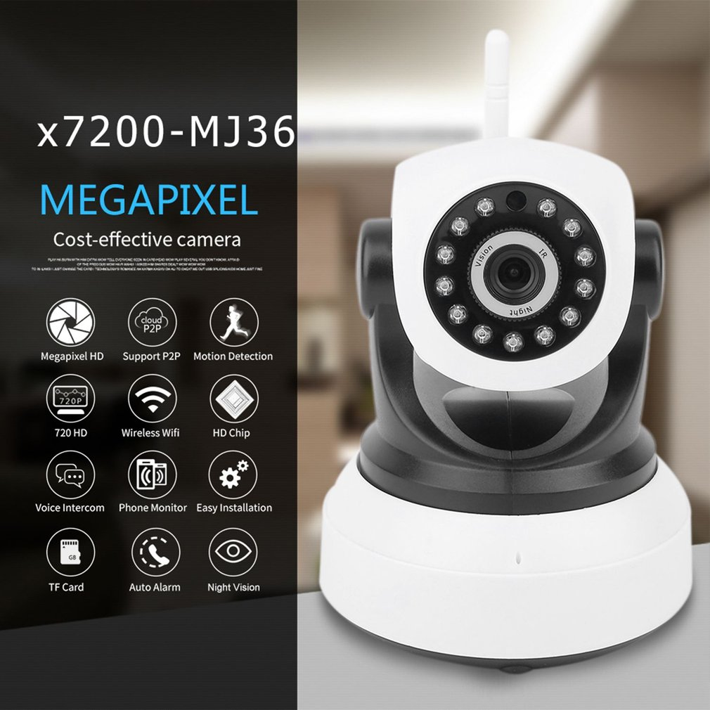 Network Scouting Camera For Home With Night Vision HD 720p