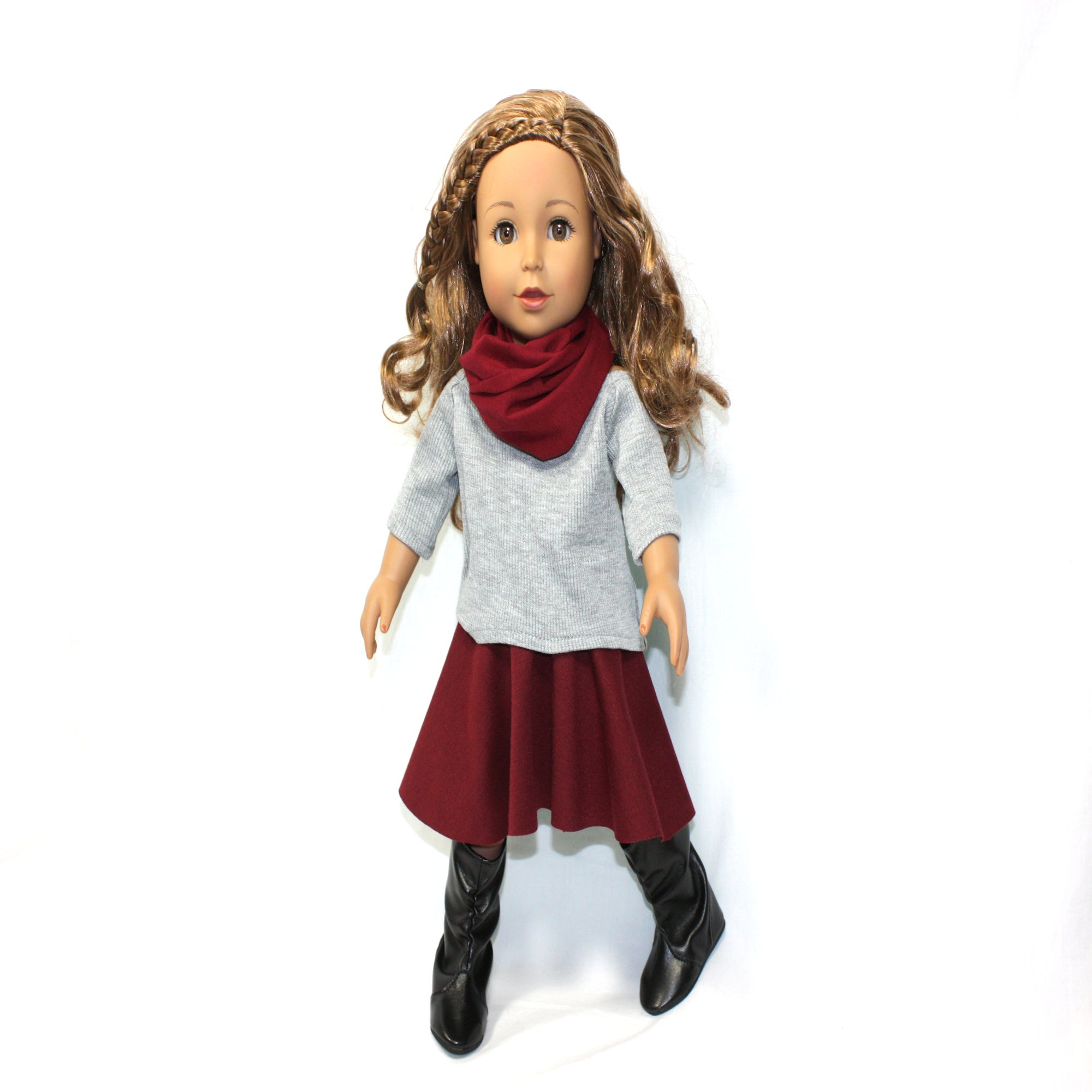 Arianna Fallin for Fall Outfit Fits 18 inch Dolls