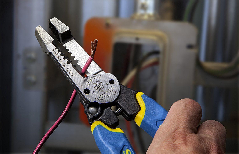 klein tools k12055 heavy-duty wire stripper - Walmart.com