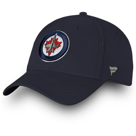 Winnipeg Jets Fanatics Branded Women's Iconic Fundamental Adjustable Hat - Navy - OSFA
