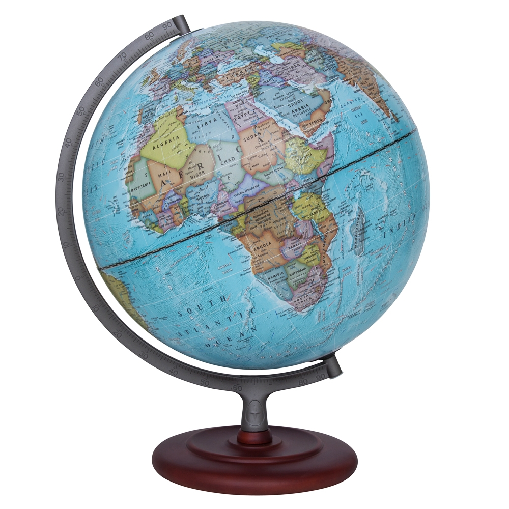 Waypoint Geographic Mariner II Illuminated Desktop Globe