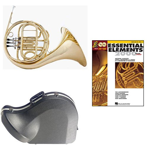 Band Directors Choice Single French Horn in F Essential Elements for French Horn Pack;... by Band Directors Choice