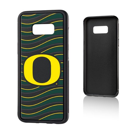 U of O Oregon Ducks Wave Bump Case for Galaxy S8+ ()