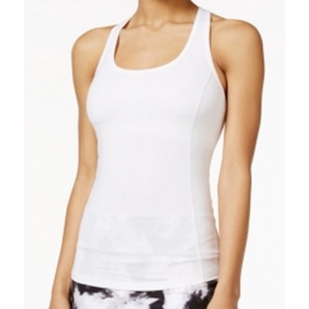 Braided Trim Tops - Ideology NEW White Women's Size Large L Braided Trim Athletic Tank Tops