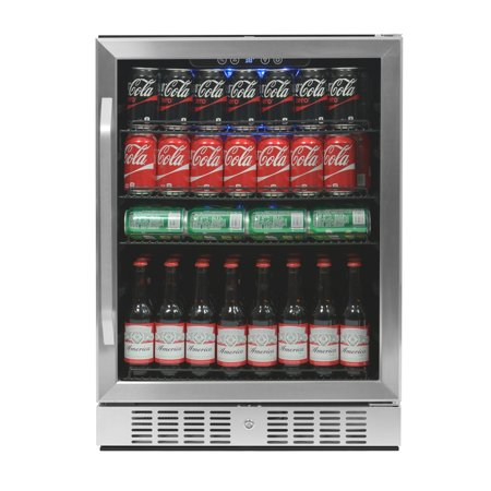 NewAir ABR-1770 177 Can Deluxe Beverage Cooler, Stainless