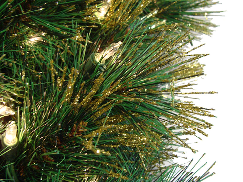 7.5' Tattinger Long Needle Pine Artificial Christmas Tree
