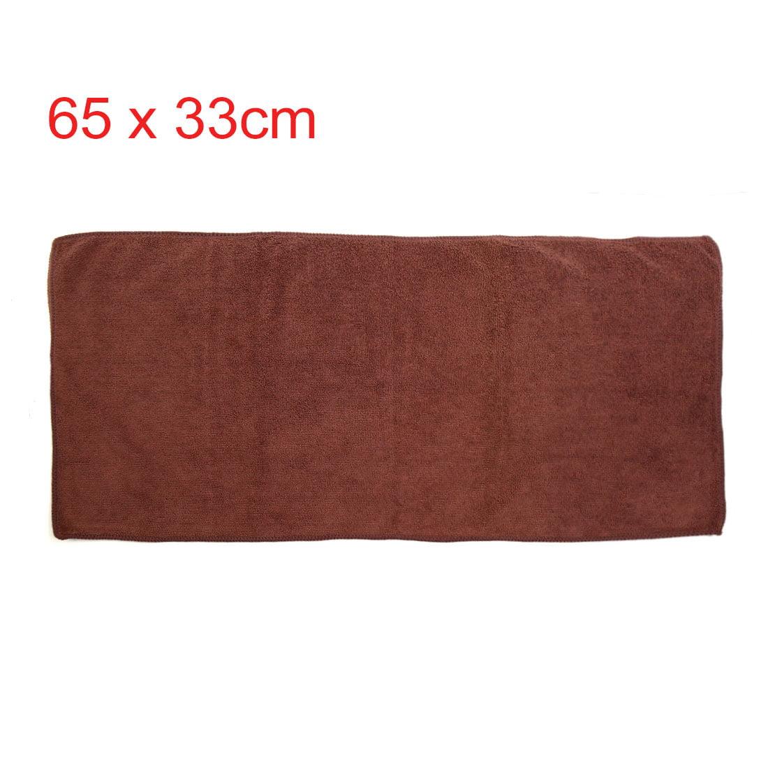 Auto Washing Towels 3pcs 300gsm 65 x 33cm Dark Light Blue Coffee Color Water Absorb Car Clean Towel - image 6 de 7