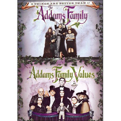 ADDAMS FAMILY/ADDAMS FAMILY VALUES (DVD/DOUBLE FEATURE)