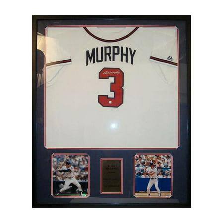 36x44 Autographed Jersey Frame - Dale Murphy Atlanta Braves ...