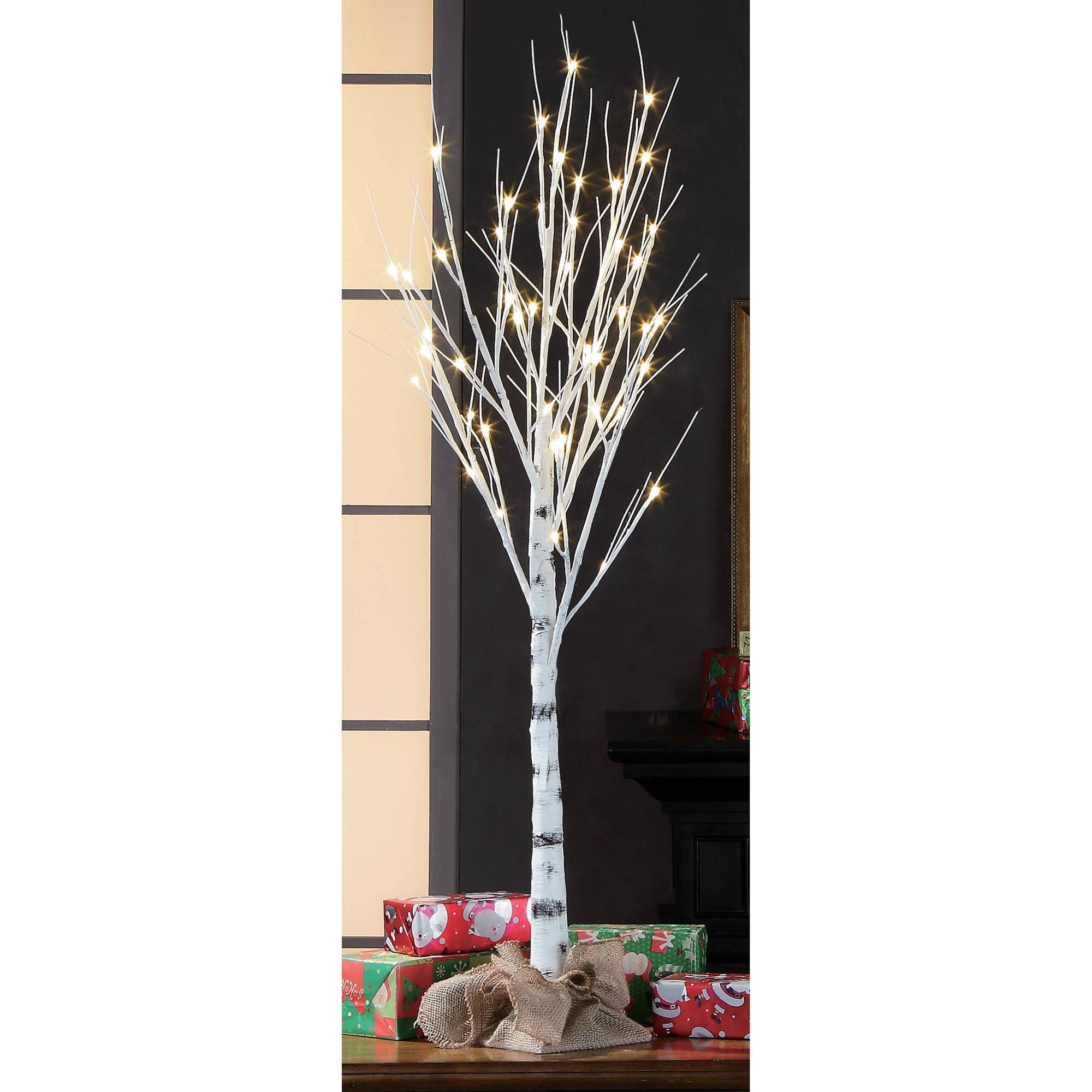Ideal Holiday Time 4ft Birch Stick Tree. - Walmart.com OT73