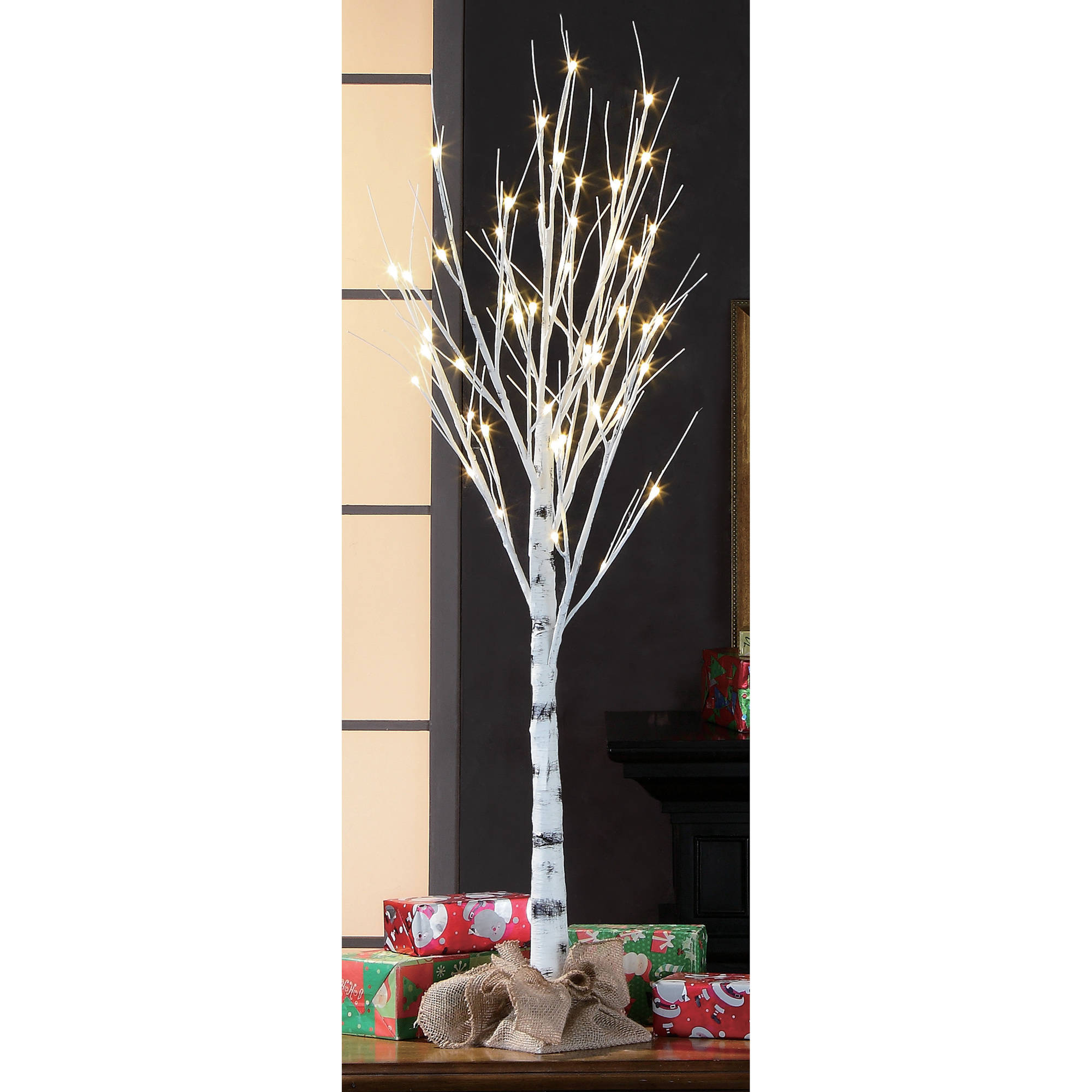 Holiday Time 4ft Birch Stick Tree.