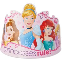 Disney Princess Party Tiaras, 8ct