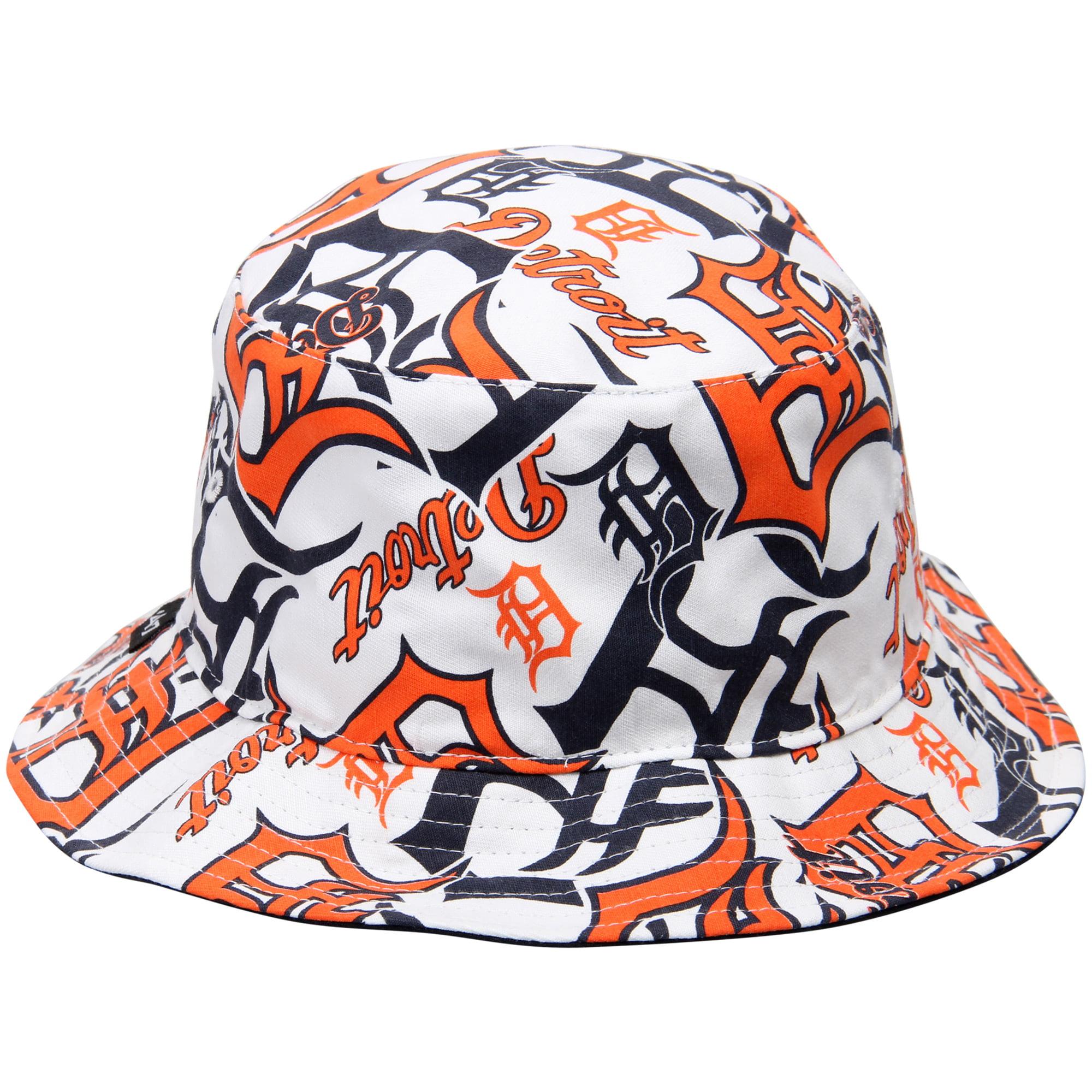 2c0a44cc12631 Detroit Tigers  47 Bravado Bucket Hat - White - Walmart.com