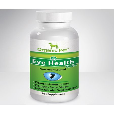 Pet Vision Eye Drops - Organic Pet Supplement For Dogs & Cats - Eye Health Pet Care Supplies…