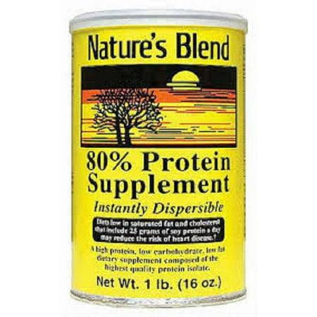 Nature's Blend Protein Supplement Powder, 16oz