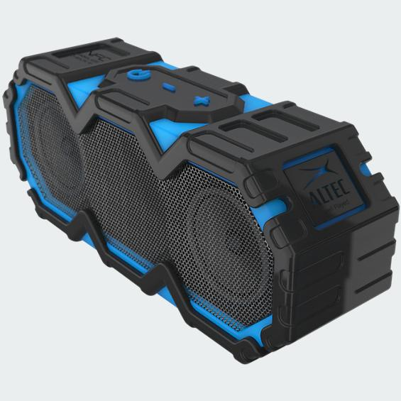 Refurbished Altec Lansing IMW475-BLU-WM Mini LifeJacket Waterproof Portable BluetoothSpeaker by Altec Lancing