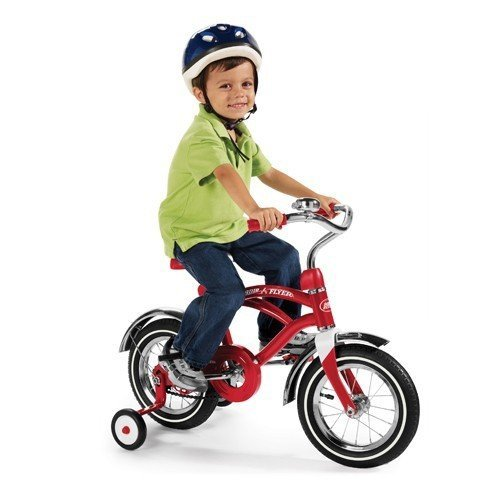 "Radio Flyer Classic 12"" Cruiser Bike, Red"