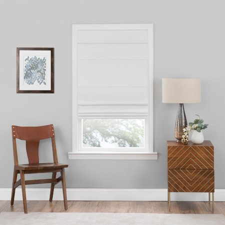 Achim Cordless Blackout Window Roman Easy Install Shade (Green Mountain Vista Roman Shade)